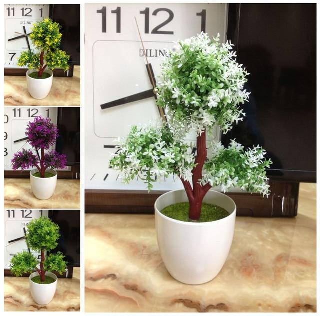 Decorar maceta con plantas artificiales casa dise o for Casa cristina plantas artificiales