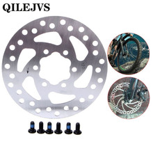 QILEJVS 1 Set Mechanical Cycling Bicycle Disc Brake Rotor For 120mm Fr MTB Mountain Bike