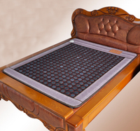 2015 High Quality Tourmaline Mattress Korea Bamboo Carbon Fiber Tourmaline Cushion Electric Heated Pad For Sale