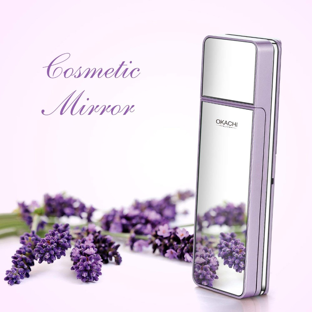 Портативный нано-спрей для лица увлажняющий освежающий мягкий чехол для кожи Mister Mini Humectant beauty Skin Care Tool Water Spa с зеркалом