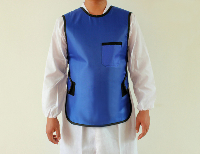 Free shipping  0.5mmpb x ray  protective clothing, x-ray shielding jacket .children protection apron