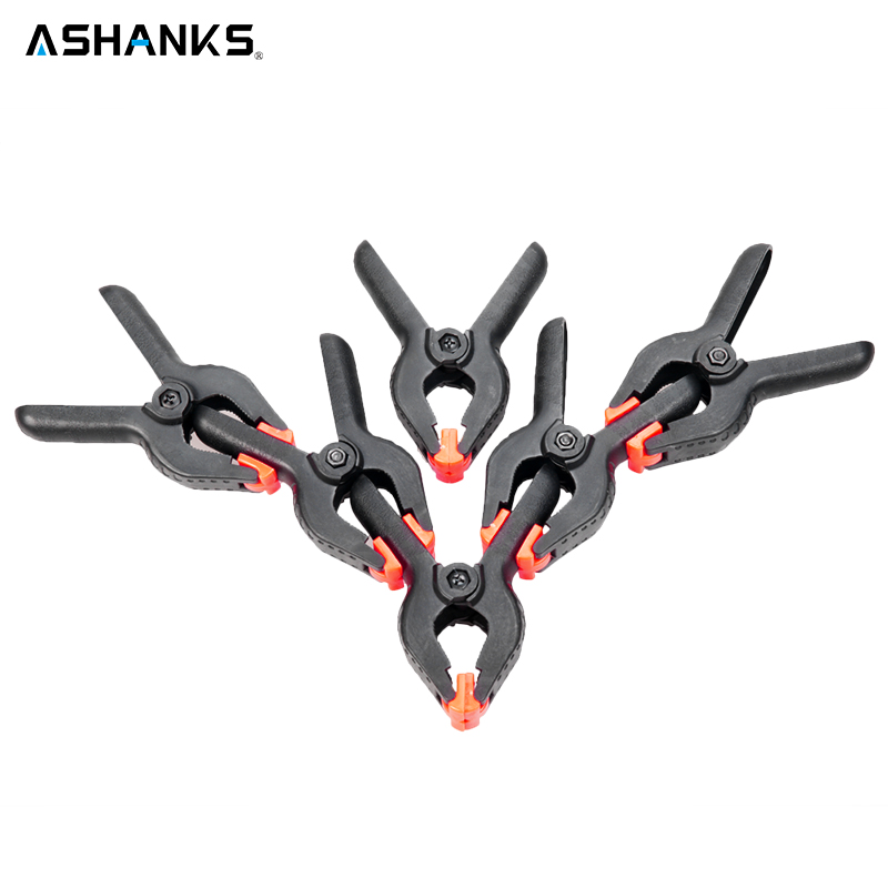 ASHANKS 6 Pieces 4.5'' Universal Studio Backdrop Clamps Background Muslin Photo Studio Clips for Photography Camera Shooting чехол накладка pulsar clipcase pc soft touch для lenovo a1000 красная