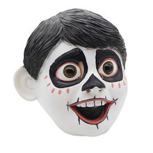 2018 Newest Realistic Funny Movie Anime CoCo Miguel Cosplay Full Head Latex Mask Fancy Ball Helmet Costume Props Masks