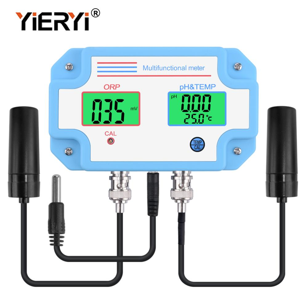 yieryi PH 2989 Digital LED PH And ORP Meter Tester with 2 in 1 High Accuracy