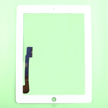 100%  tested  Touch Screen Digitizer Glass Lens Replacement For iPad 3&4 Free shipping