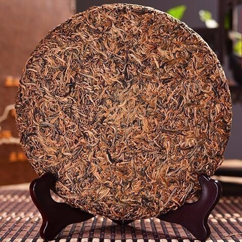 357g China Yunnan High Grade FengQing Gold Bud Dian Hong Tea Cake Golden KungFu Honey Flavor Black Tea Green OrganicDianHong Tea