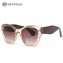 AEVOGUE Newest Butterfly brand Eyewear Fashion sunglasses women hot selling sun