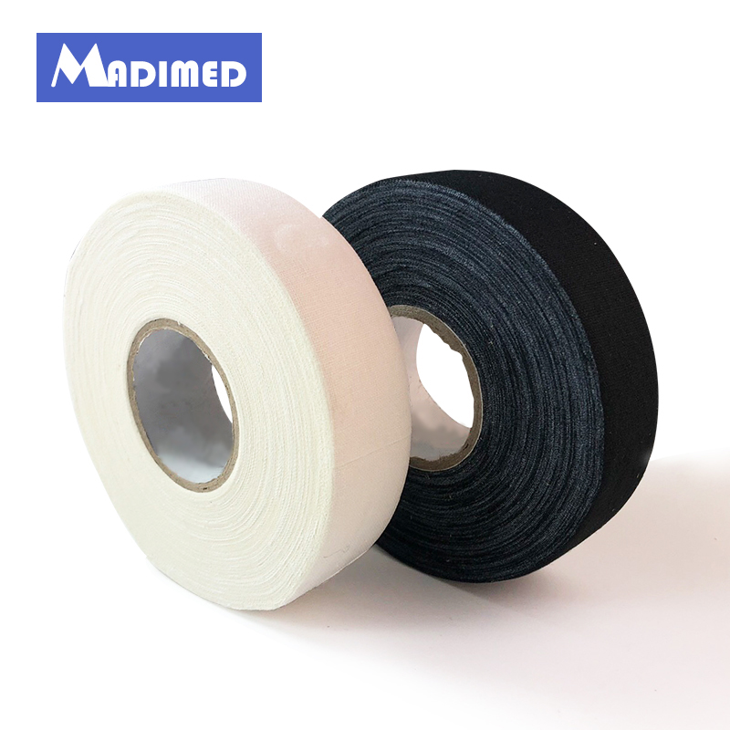 цена на 25MMX22.5M 2Rolls/Lot Cloth Hockey Tape Adhesive Sports Trainers Tape