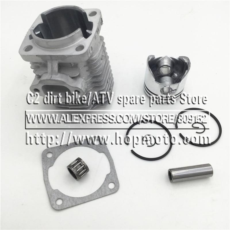 44-6 Cilinderkop Cilinderkop met zuiger voor 2-takt 49cc Mini Dirt - Motoraccessoires en onderdelen - Foto 3