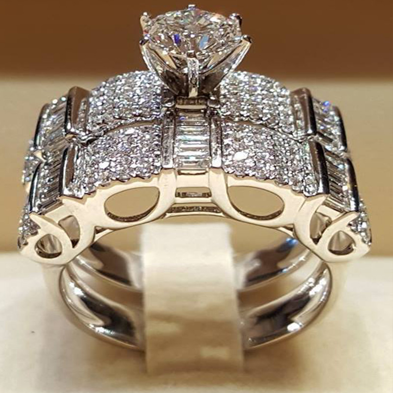 2019 Luxury Rings Women Wedding Engagement Acessories Unisex Jewelry Big Promotion For Men Women Birthday Gifts in Rings from Jewelry Accessories