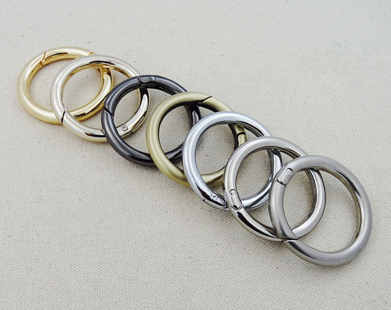 Snap Clip Trigger Spring Gate O Ring Keyring Buckle Bag Accessories ...