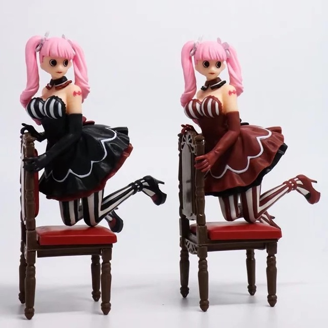 Anime girl in chair
