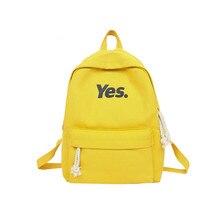 Fashion Canvas Backpacks Women Children Schoolbag Back Pack Leisure Ladies Knapsack Laptop Travel Bags for School Teenage Girls