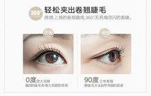 KESMALL 1PC Portable Eyelash Curler Curling Lasting Eyelashes Auxiliary Box Travel Beauty Tool CL0081