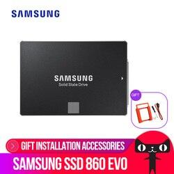 SAMSUNG внутренний EVO SSD 860 250 гб 500 гб 1 ТБ 2 ТБ 4 ТБ твердотельный диск 2,5 дюймов SATA3 ноутбук настольный пк TLC Disco Sata Iii Ssd