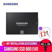 SAMSUNG внутренний EVO SSD 860 250 ГБ 500 1 ТБ 2 ТБ 4 ТБ твердотельный диск 2,5 дюймов SATA3 ноутбука, настольного компьютера, ПК, TLC диско жесткий диск SSD SATA III