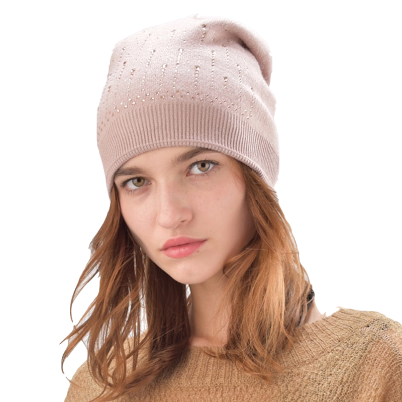 FURTALK women winter hat [dexing] new fashion winter beanie knit winter hat for men warm bonnet plus velvet labeling alphabet knitting hedging cap
