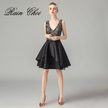 Cocktail Dresses 2019 A Line Women Formal Prom Party Gown Short Cocktail Dress beauty emily wine red lace party prom dresses 2019 short for women a line half sleeve formal party prom homecoming dresses