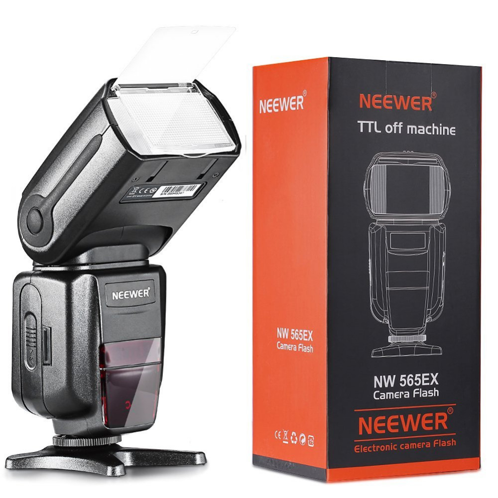 Neewer NW-565 EXN I-TTL Slave Speedlite with Flash+Diffuser for Nikon D4/D7100/D3100/D80/D3000/D3200/All Other Nikon Models neewer 52mm professional lens filter and close up macro accessory kit for nikon d7100 d7000 d3200 d3100 d3000 d80 dslr cameras