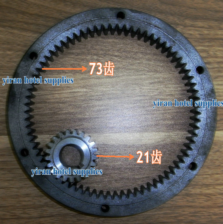 73 teeth and 21 teeth Mixer eggbeater accessories internal gear ring gear planetary gear