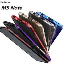 Meizu M5 Примечание чехол роскошный люкс ультра тонкий алюминиевый бампер для Meizu M5 Примечание Защитная крышка телефон Алюминий