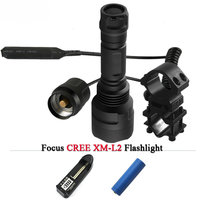 T6 L2 Tactical Led Flashlight Cree XML T6 XM L2 Torch Led 1 Mode 5 Mode