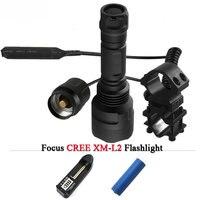 T6 L2 Tactical Led Flashlight Cree XML T6 XM L2 Torch Led 1 Mode 5 Mode