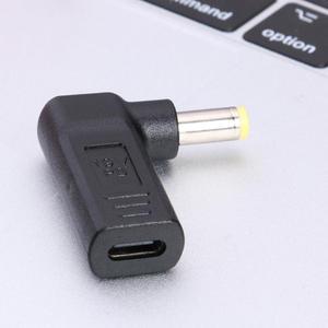 90 градусов USB 3,1 USB-C тип-c автобус до 5,5*2,5 мм DC источник питания вилка конвертер автобус с PD симулятор триггера
