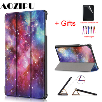 Funda Case for Samsung Galaxy Tab A 10.1 SM-T510 SM-T515 2019 Stand PU Leather Cover for Samsung Tab A 10.1 2019 T510 T515 Case for samsung galaxy tab a 10 1 2019 sm t510 sm t515 smart case cover pu leather protective shell auto sleep stand ultrathin