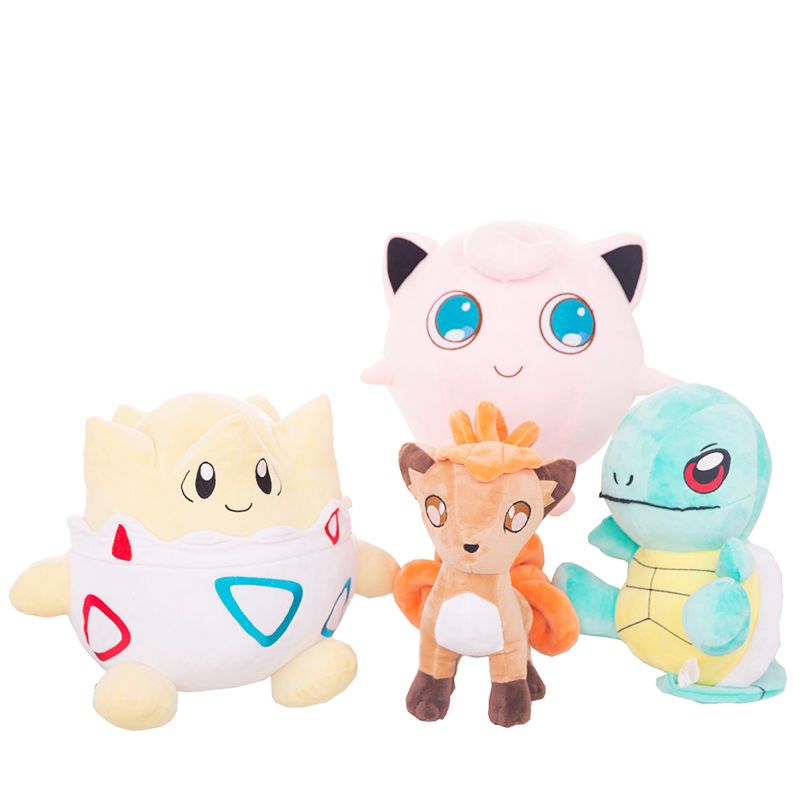 Pokemon Go, Plush Toy,Minecraft plush toys, Genie turtle/ Jigglypuff / Polk stuffed animals