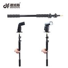 Digitalfoto ручной 63-158 см расширение поддержки стержня фотографии Вспышка Speedlite палку стержень фото студия микрофоном