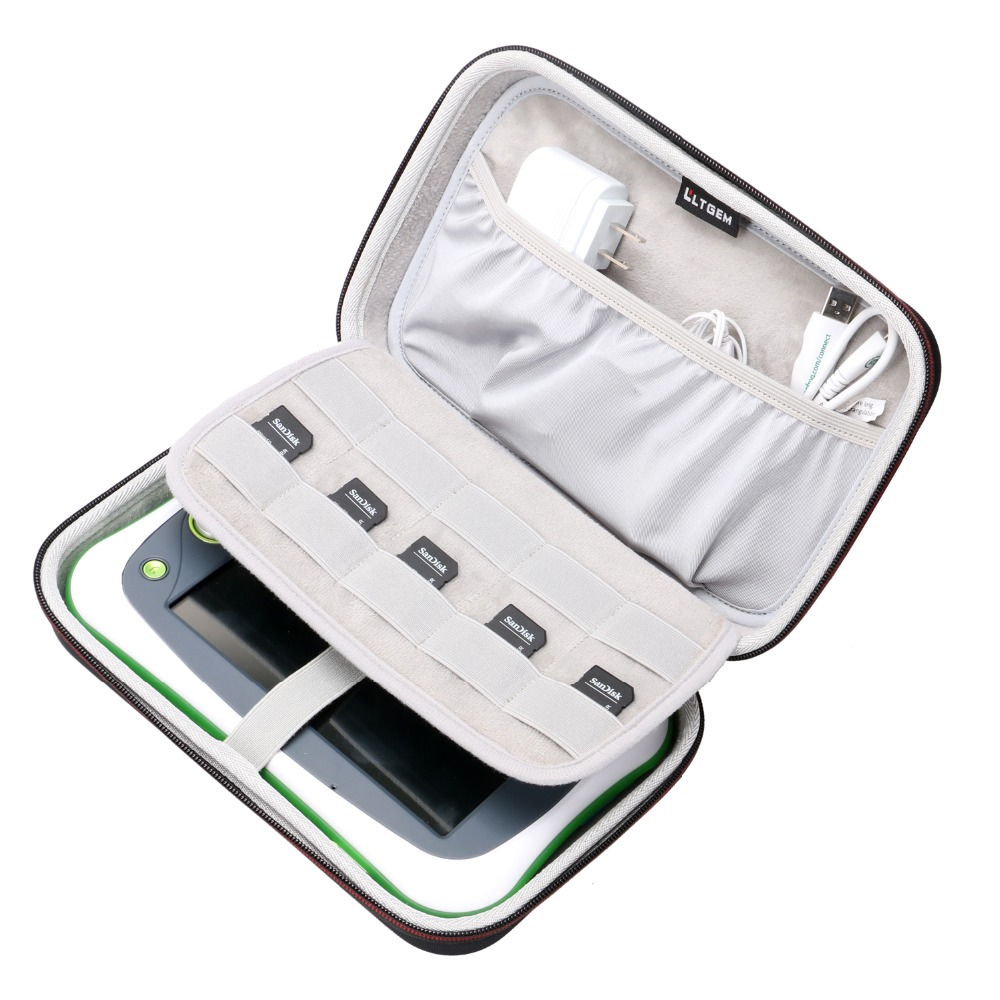 LTGEM EVA Hard Case For Leapfrog LeapPad Ultimate - Travel Protective Carrying Storage Bag