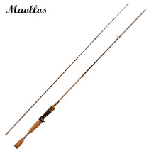 Mavllos Carbon Fiber 1.68m M Power Casting Rod Lure Weight 7-21g Two Section Saltwater Lure Fishing Rod