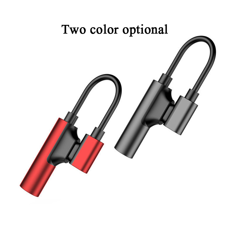 Usb Type C To 3.55mm Jack Audio Splitter Headphone Cable Earphone Aux 3.5 Adapter Charger Usb-c For Xiaomi Mi 8 For Huawei Nova3