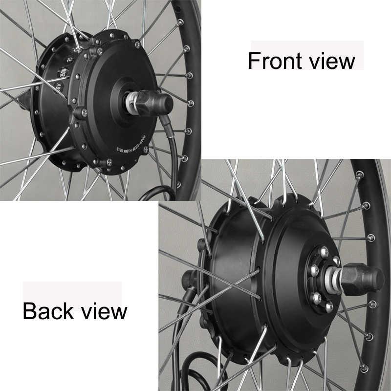 """Велосипедное колесо для тележки 48 В 350 Вт 20 """"24 дюйма электрический комплект для заднее колесо велосипеда мотоцикла Monowheel"""