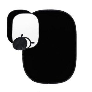 Image 3 - 2x1.5m czarno białe tło dwustronne Studio składane muślinowe tło akcesoria do studia fotograficznego