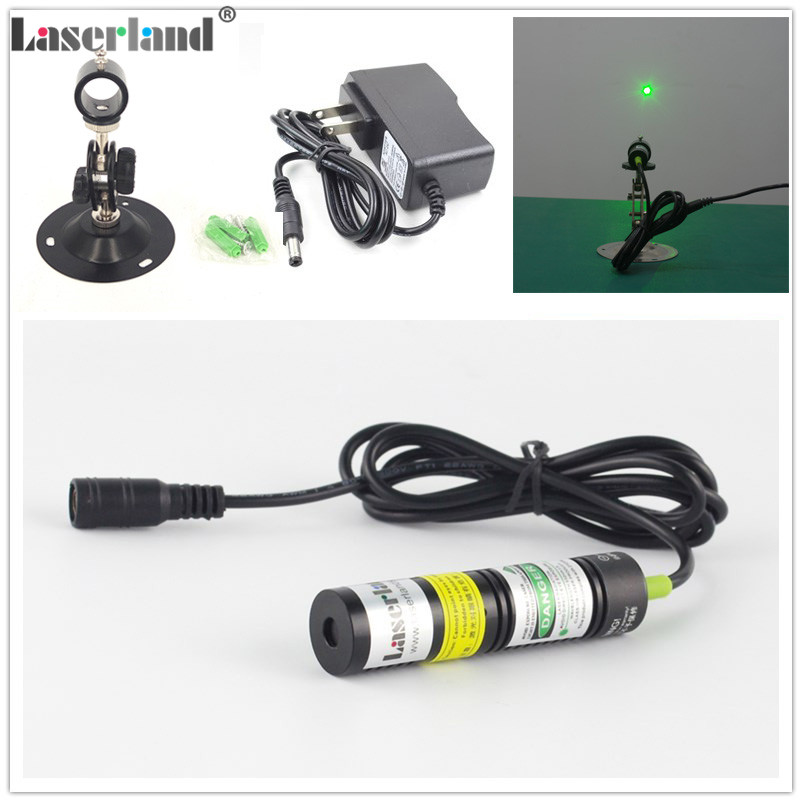 1875 532nm 10mW 20mW 30mW 50mW Dot Green Laser Module Diode Locator For Wood Fabric Cutting Cutter Adapter Mount