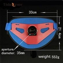 Aluminium fishing belt fishing jigging trolling baot rod holder gimbal fighting belt fishing tools 33cm*21.4cm