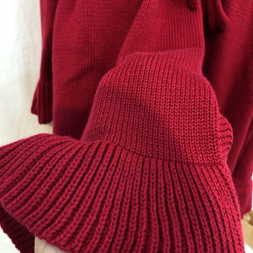 Winter Mädchen Baby Stricken Pullover Mantel Kleider Kinder Royal Abend Party Kleid Stricken Strickjacke Mantel baby Weihnachten Kleid Stricken Hut