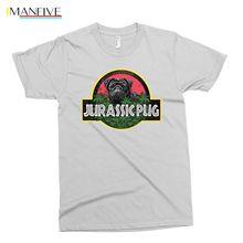 White Pug Tastic футболка мопсы не наркотики удивительный смешной парк юрского периода Great Lege