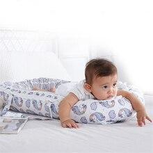 85*50 см переносная детская кровать-гнездо, нордическая хлопковая колыбель с принтом единорога, детская люлька, бампер, складное спальное место для новорожденного, дорожная кровать