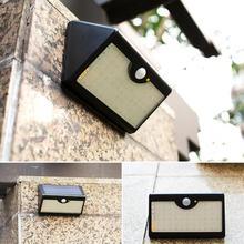LED Solar Powered Wall Light Infrared Human Body Sensor Sconce Lamp For Garden Road Corridor led smart wall light infrared human body motion sensor sconce lamp with 360 degree rotation for bedside