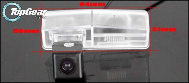 Caméra de voiture pour Lexus ES300/ES330 XV30 2002 ~ 2006 caméra de recul de haute qualité pour PAL/NTSC à utiliser | connecteur RCA