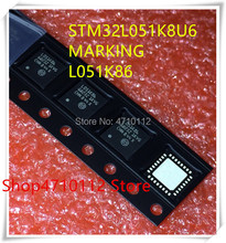 NEW 10PCS/LOT STM32L051K8U6 STM32L051 K8U6 MARKING L051K86 QFN-32 IC