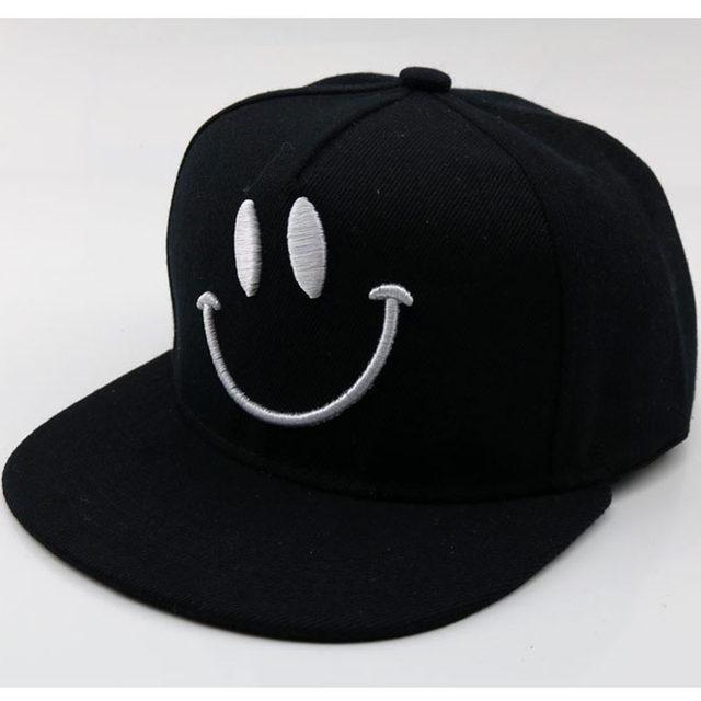 Online Shop Hip Hop Children s Hat Smiley Face Cartoon Child ... 6744354a5602