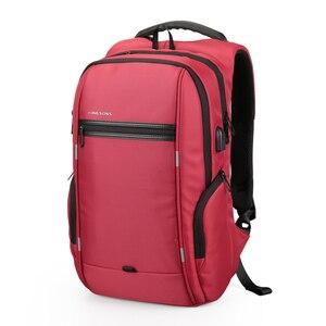 """Image 4 - Kingsons mochila para ordenador portátil de 15 """", 2020"""",Notebook 13 """",14"""", bolsa de ordenador de 15,6 """", negocios, trabajadores de la Oficina, envío gratis, 15,4"""