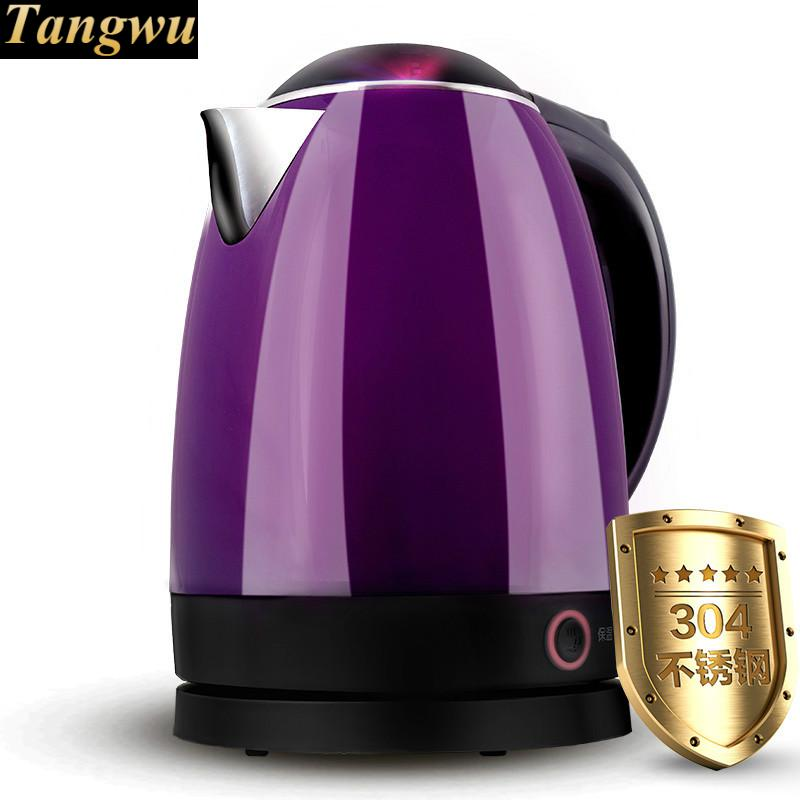 Electric kettle boiling water boil a key insulation 304 stainless steel цена
