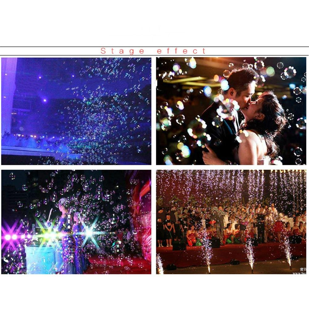 LumiParty Creative LED Lamp Romantic Stage lights Bubble Machine Great for Wedding Birthday Parties Festivals