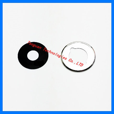 1set XGE New Rear Camera Lens Glass With Frame Repair Replacement For Meizu MX5 Mx 5 With Sticker Top Quality
