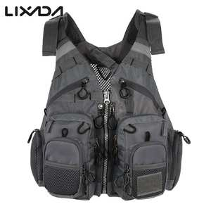 Outdoor Breathable Fishing Life Vest Superior  Bearing Life Safety Jacket Swimming Floatation Waistcoat  Vest for Pesca